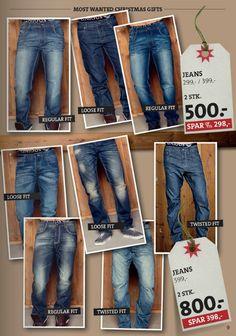 Jeans   W34 L32   Marcus (299 - 599 kr.)
