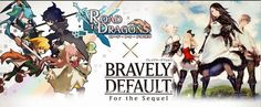 #コラボ Road To Dragons, Bravely Default, Banner, Comic Books, Comics, Movie Posters, Layouts, Film Poster, Comic