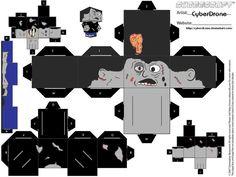 Cubee - Zombie by CyberDrone.deviantart.com on @deviantART