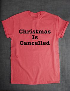 Christmas Is Cancelled Funny Bah Humbug by ResilienceStreetwear