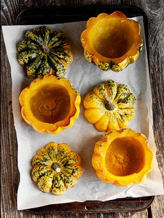 Roasted Squash with Thai Curry Squash and Spinach Filling