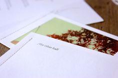 Wedding Stationery by Sue Whitlam, via Behance