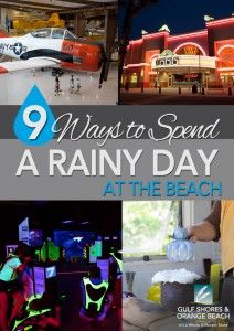 Nine Ways to Spend a Rainy Day at the Beach