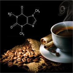 On second thought, maybe i should get this as a tattoo if i ever do decide to get one. --> (Chemical composition of Coffee!)