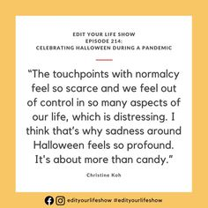 Edit Your Life podcast episode on celebrating Halloween and maintaining touchpoints with holiday normalcy in a safe, simple way. Minimalist Parenting, Silly Holidays, Leadership Conference, Social Channel, Your Life, Simple Way, Parenting Hacks, How To Find Out, Im Not Perfect