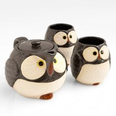 I want these!    Owl teapot from Poketo http://poketo.com/shop/index.php?route=product/product&product;_id=1492