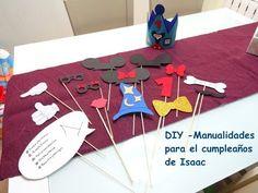 DIY - Manualidades para el cumpleaños de Isaac - http://cryptblizz.com/como-se-hace/diy-manualidades-para-el-cumpleanos-de-isaac/