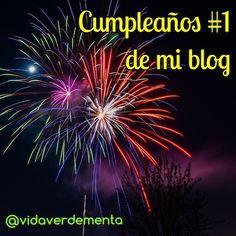 Con el primer aniversario de mi blog, además de celebrar un nuevo cumpleaños…