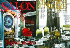 """VILLARI for the magazine """"Salon"""" in february 2012"""