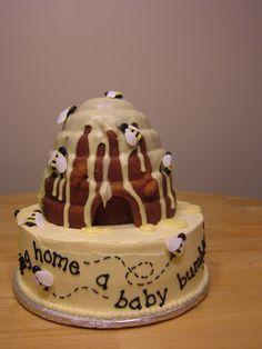 bumble bee cake