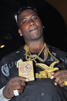 Gucci Mane  Is not just another one of my favorite rappers but is real about what he say even in his music