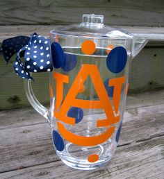 """Auburn Pitcher...nice, but I think it would look much better """"done up"""" in LSU colors!  ;)"""