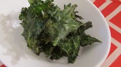 Baked Kale Chips American Vegetarian: May 2013 #kale #vegan  #bakedchips