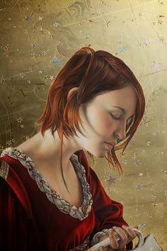 25 belas pinturas Egg Tempera por Fred Wessel