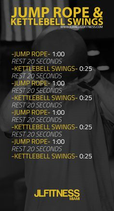 Jump Rope and Kettlebell workout | Posted By: NewHowtoLoseBellyFat.com