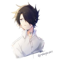 Ray - the promised neverland Norman, Terra Do Nunca, Kamigami No Asobi, Tamako Love Story, Mystic Messenger, Clannad, Neverland, Cardcaptor Sakura, Anime Guys