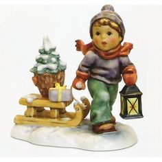 There are a wide variety of lines in the collection and the Christmas figurines are certainly among the most popular.