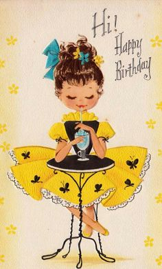Birthday Quotes QUOTATION – Image : As the quote says – Description ┌ⅲii┐ H is for Happy Birthday, Vintage Lifestyle Magazine Happy Birthday Pictures, Happy Birthday Quotes, Happy Birthday Greetings, Birthday Messages, Birthday Greeting Cards, Card Birthday, Les Enfants Sages, Happy Birthday Vintage, Retro Birthday