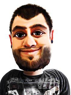 Self Caricature Manipulation by iHeartManipulations.deviantart.com on @DeviantArt