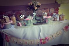 Cowgirl Party Trail Mix Bar