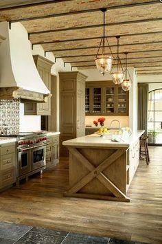 Tom Brady and Gisele Bundchen Kitchen - gorgeous!
