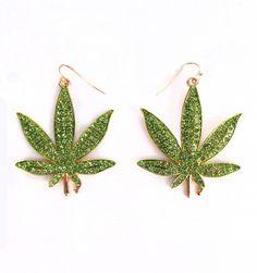 Weed Earrings | Patricia Field
