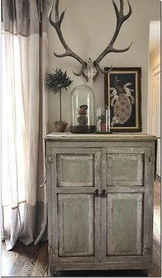 Tabletop vignette by Sally Wheat Interiors