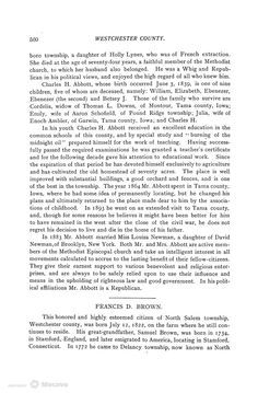 Biographical History of Westchester County, New York., Volume 2, Page 124   Document Viewer