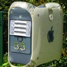 Would you make a mailbox out of your old computer?