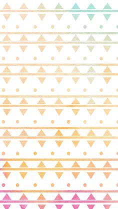 Lovedandsign: 4 Paint Aztec Wallpaper