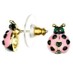 Betsey Johnson Earrings | 885043537849_Betsey_Johnson_Earrings__Lady_Bug_(B05839-E01).jpg