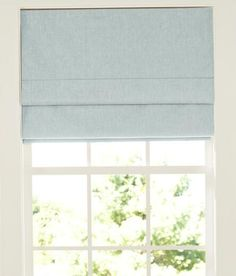 Linen Lined Roman Shade - Country Curtains®