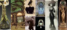 Dark, romantic historical novels set in the fabulously sophisticated era of the Belle Époque. Belle Epoque, Art Nouveau, Art Deco, Fantasy Images, Fantasy Illustration, Arts And Crafts Movement, Novels, Romance, Victorian