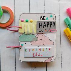 Mini álbum formato Project Life. @pinkfreshstudio #happythings #pinkfreshstudio