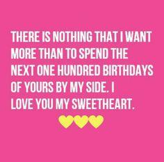 Birthday wish for a boyfriend or girlfriend saying happy birthday birthday wishes m4hsunfo