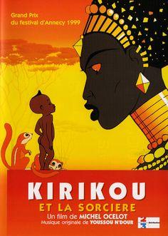 """""""Kirikou et La Sorcière"""" (Kiriku e A Feiticeira, 1998)"""