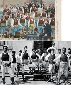 ÍTFAÍYECÍ (fireman, also named: 'tulumbacı'). Irregular (voluntary) fire brigades, Istanbul, ca. Ottoman Empire, Fire Engine, Traditional Art, Istanbul, Clothing, History, Outfit, Firetruck, Fire Truck