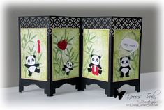 Panda Love by ClassyCards - Cards and Paper Crafts at Splitcoaststampers