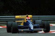 Johnny Herbert, Tyrrell 018 - Ford-Cosworth DFR 3.5 V8. GP Bélgica 1989. #F1