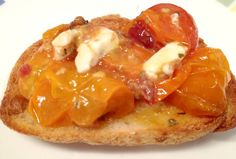 Cherry tomatoes out of control in your garden? Use some up by making easy bruschetta in the toaster oven.