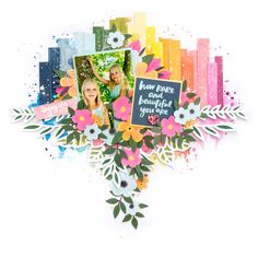 How Rare and Beautiful You Are Scrapbook Storage, Kids Scrapbook, Scrapbook Cards, Scrapbook Layout Sketches, Scrapbooking Layouts, Digital Scrapbooking, Paper Place, Image Layout, Photo Layouts