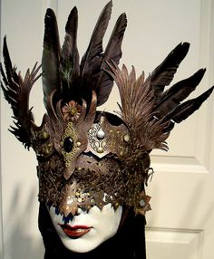 MYTH Masque anyone? Seraphim by VincentCantillon on Etsy, $200.00