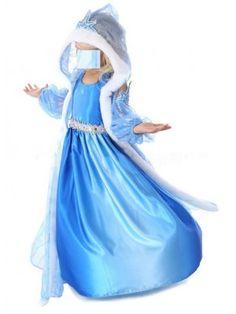 Frozen Vestiti Carnevale Elsa 2-12 anni 789010