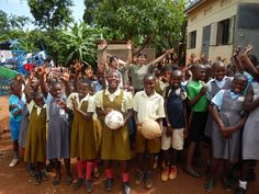Volunteers in Uganda Bulenga Social welfare programs June - July 2014  https://www.abroaderview.org/  #abroaderview #uganda #bulenga #charity #volunteer