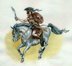 Iberian Warrior, by Ana Koehler?