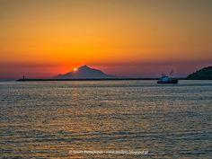 Ηλιοβασίλεμα στο λιμάνι της Μύρινας | Λήμνος Φωτό: Vasilis Protopapas