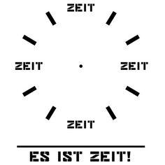 Es ist Zeit