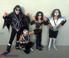 KISS Kids - 2012 Halloween Costume Contest