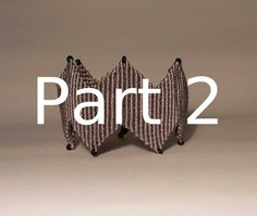 Βραχιόλι Μακραμέ με ZigZag Μέρος 2 / Micromacrame Bracelet Part 2