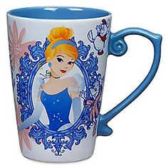 Cinderella Disney Princess Mug | Disney Store Cinderella's Disney Princess Mug will empower your daydreams from dawn 'til dusk. Imagine all you aspire to before every sip and someday that wish could come true!